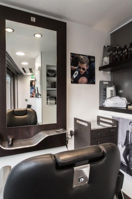 Agrandissement salon de coiffure Julie POCINO Architecte d'intérieur GRENOBLE ALPES 2